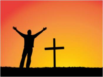 silhouette-of-a-man-in-front-of-a-cross