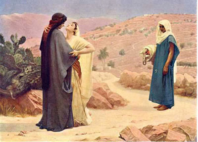 Ruth and boaz love story